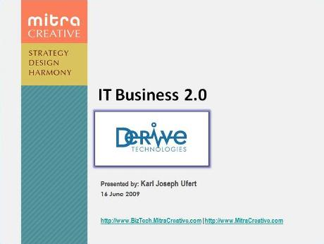 IT Business 2.0 Presentation for Derive Technologies - Image