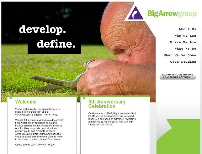 Big Arrow Group Homepage Image
