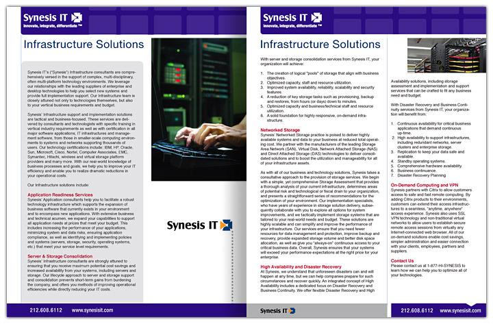 SynesisIT4_Brochures